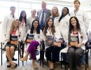 UF Dermatology Residents with Mr. Blanton