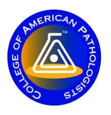 College of American Pathologists Loog