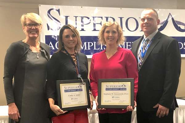 Photo of Superior Accomplishment Award Winners