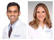 Drs. Kiran Motaparthi and Jennifer Schoch