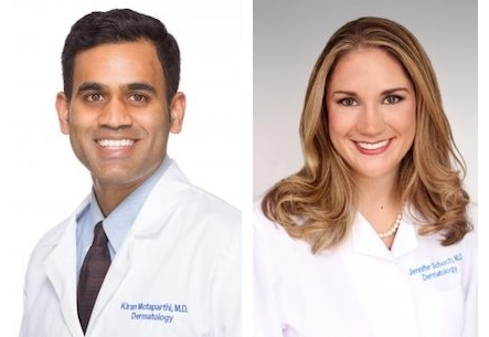 Drs. Kiran Motaparthi and Jennifer Schoch