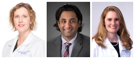 Stephanie Anuszewsk, ARNP and Drs. Sailesh Konda and Jennifer Carstens